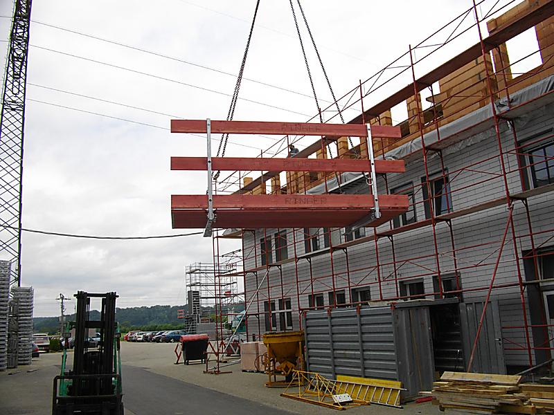betonovací plošina